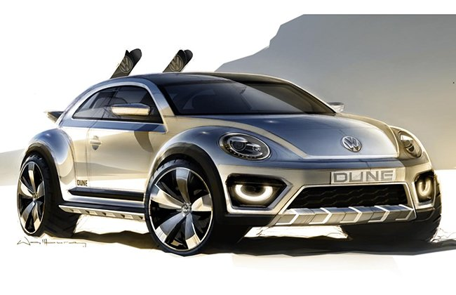 Volkswagen Beetle Dune Concept to debut at Detroit Motor Show