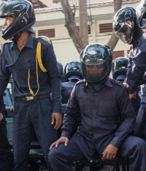 Cambodia detains land activists