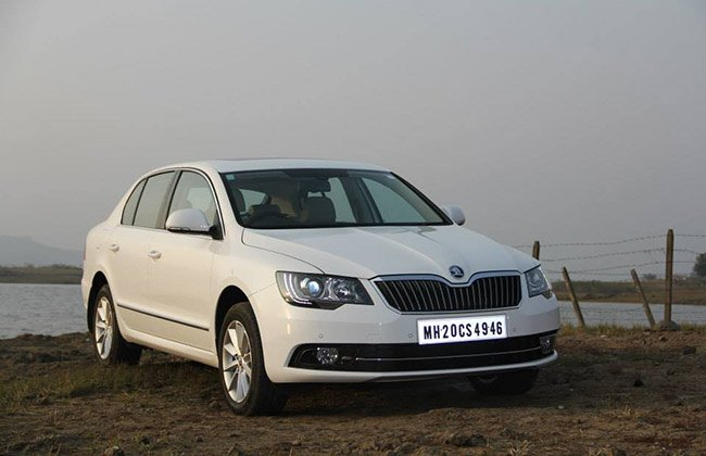 2014 Skoda Superb facelift may launch at 2014 Indian Auto Expo