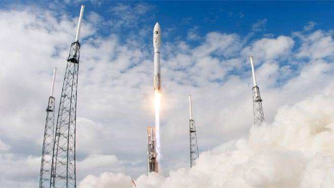 NASA launches three US military rockets