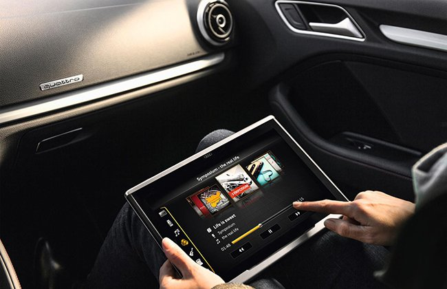 Audi showcases its new tablet