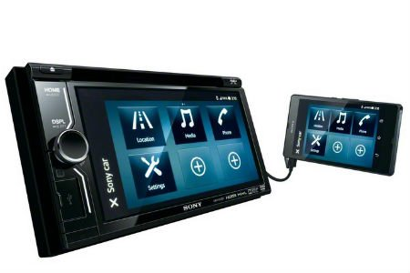 Sony launches new In-Car AV centre head units