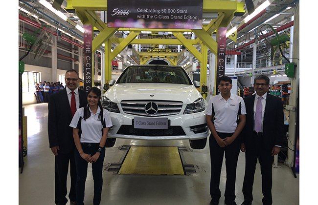 Mercedes-Benz C-Class GRAND EDITION launched in India