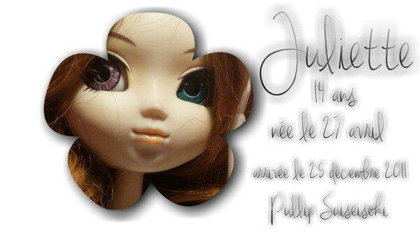 1ère doll : Juliette (l)