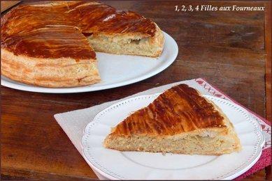 Galette des rois frangipane et crème pâtissière