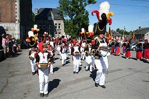 procession à sainte-Rolende