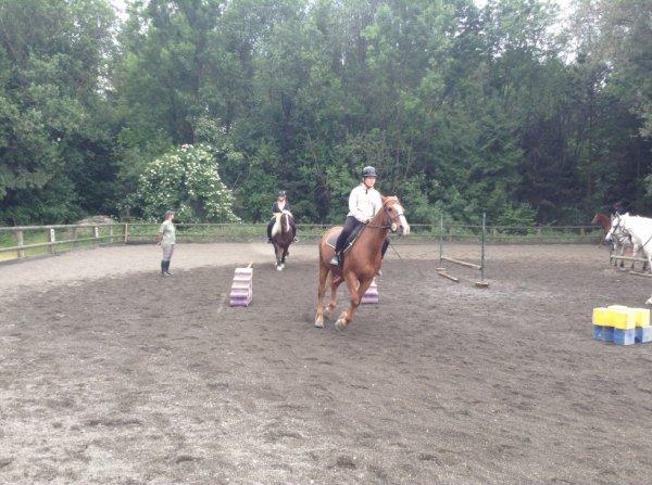 Moi et mon cheval auguste