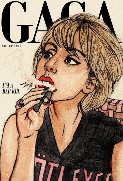 Lady Gaga - Drawings