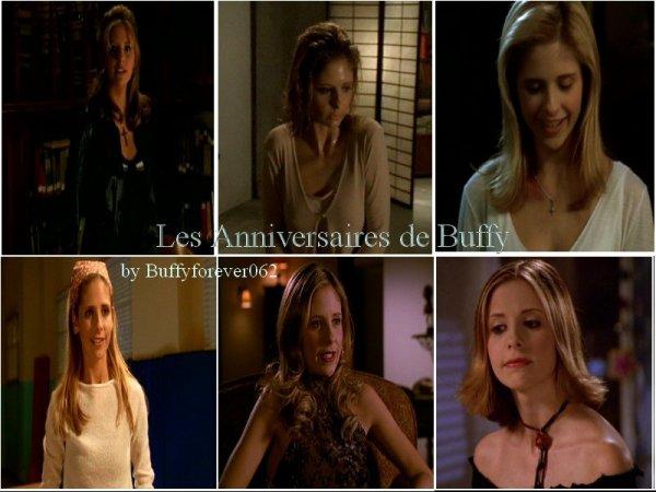 les anniversaires de Buffy