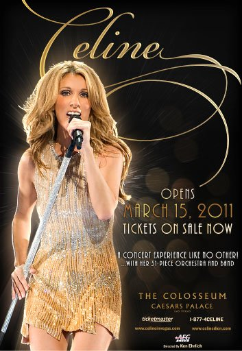 "Las Vegas show  ""CELINE"""