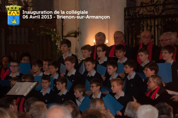 Quelques Photos de l'Inauguration de la Collégiale Saint Loup le 6 avril 2013