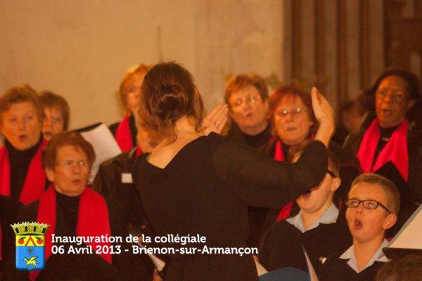 Quelques Photos de l'Inauguration de la Collégiale Saint Loup le 6 avril 2013