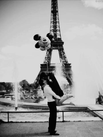 On était dans un monde magique *l'amour*. Et aujourd'hui encore, on est rêveurs...
