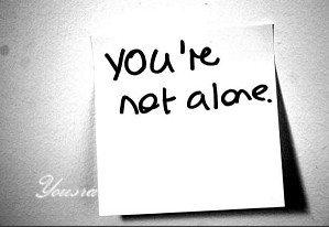 <yousra...tu n'es pas seule !> Me disent ils..