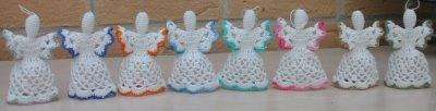Décoration de Table: anges petit modèles