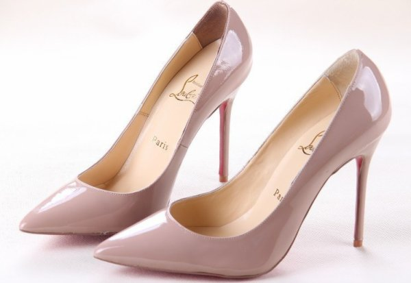 genuine leather christian louboutin shoes,lady high heels pump,women dress shoes,designer shoes