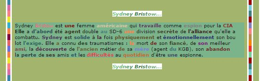 Sσphii-cσeùr-seriies_____________________________________________________déco pix   •» Sydney Bristow____________________________________________publié le 18/10/13