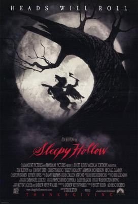 Sleepy Hollow, la légende du cavalier sans tête.