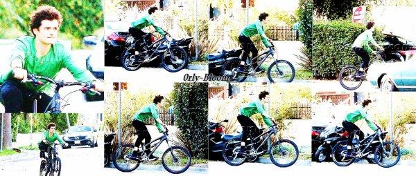 • Orlando sur son vélo dans Santa Monica •  by 0rly-Bloom