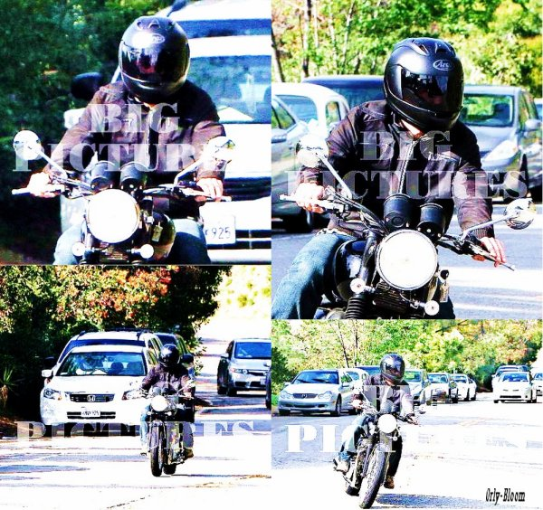 • Orlando à moto dans Beverly Hills •  by 0rly-Bloom