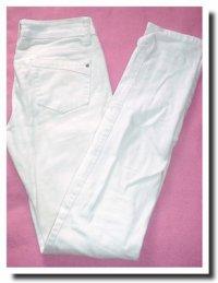 Jean slim blanc Gemo✿