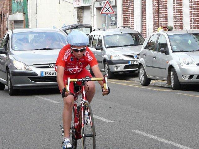 Damien, coureur cycliste