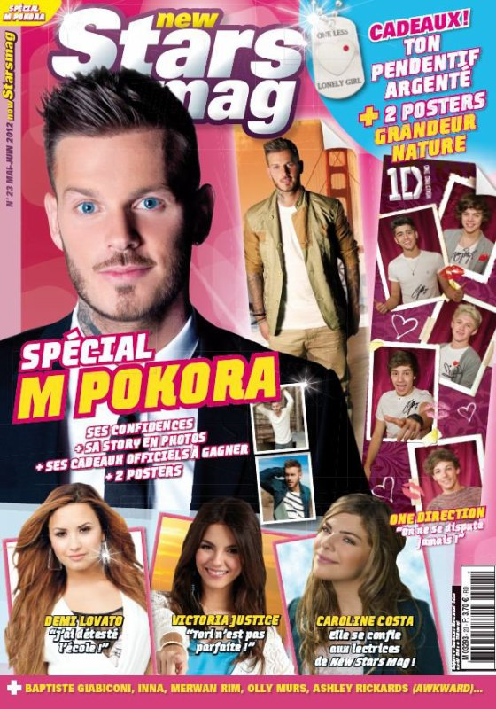 Caroline dans New Stars Mag