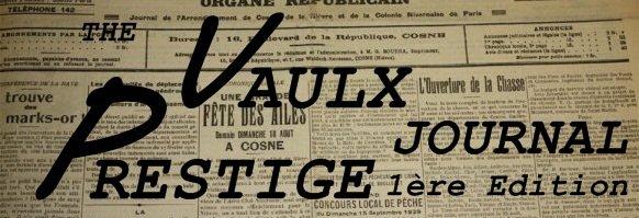 The Vaulx Prestige Journal 1ère édition