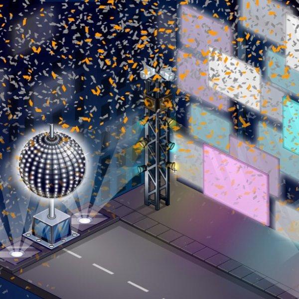 La Nouvelle année Arrive sur Woozworld ...