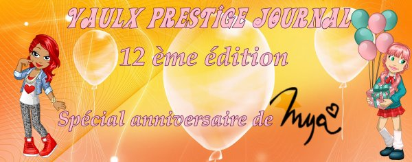 The Vaulx Prestige Journal 12 ème édition !