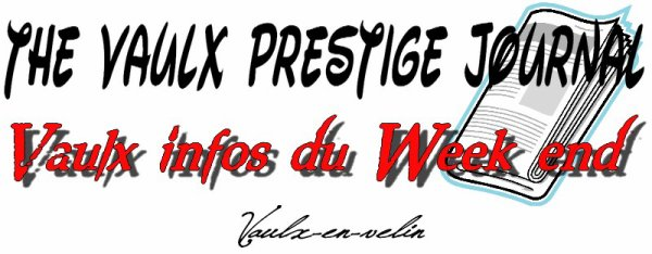 "Le logo du journal ""The Vaulx Prestige Journal"""