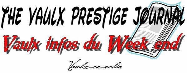 The Vaulx Prestige Journal En vidéo !