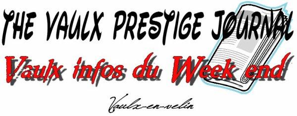 The Vaulx Prestige journal Vidéo 1ère édition