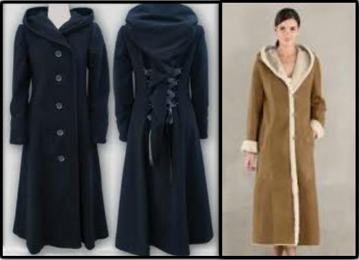 Les manteaux longs !