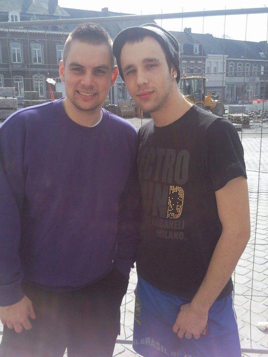 Mes deux Belges !