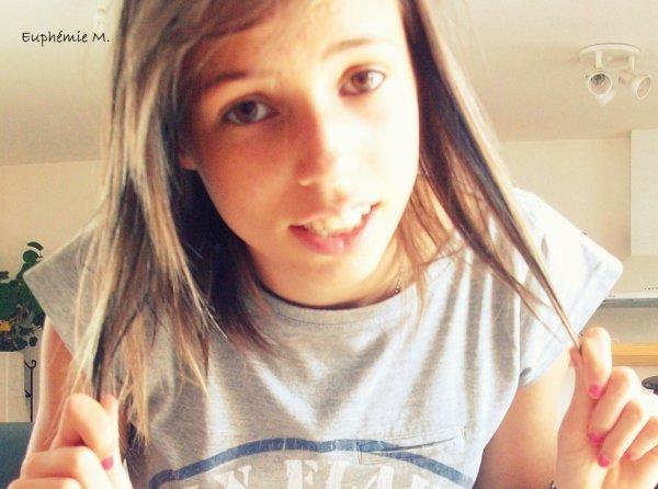 Euphémie Mesnard 14 ans.