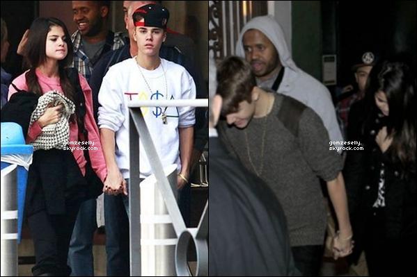 ♦ 11.11.11[/font=georgia] - Selena et Justin ont été vu arrivant & sortant des studios de Madrid ( Espagne ). Ton avis ?