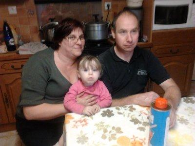 mes  parents et ma zouzouille