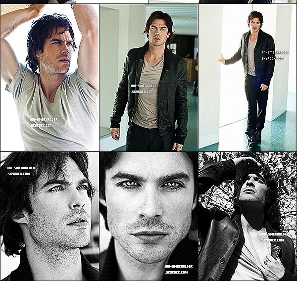 . (Re)découvre un magnifique photoshoot de Ian pour le magazine Defy ! .