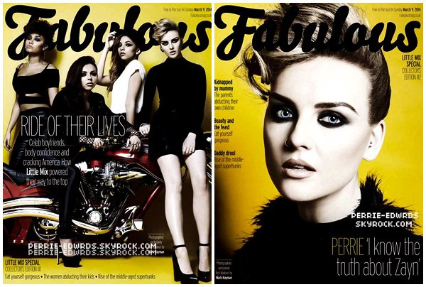 ● Découvrez les filles plus belles que jamais pour le magazine Fabulous !