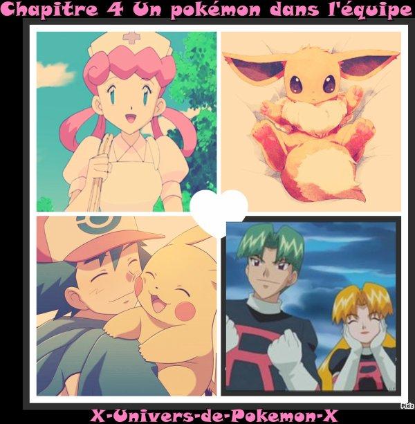 Chapitre 4 Un Pokémon dans l'équipe