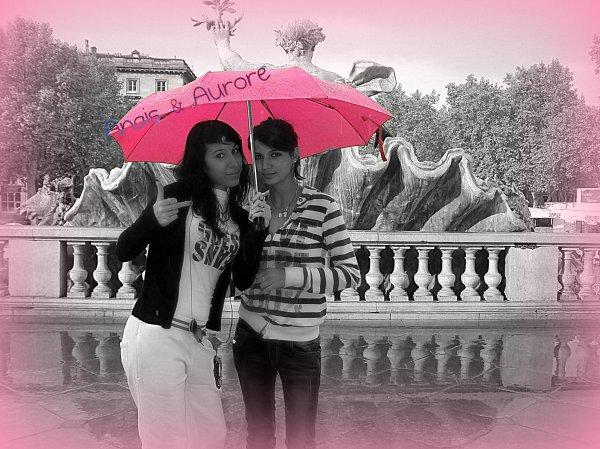 Bordeaux, sous la pluie avec elles ♥ !