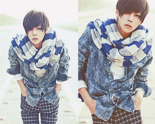 Ulzzang Boy Fiche - Yu Ha Min