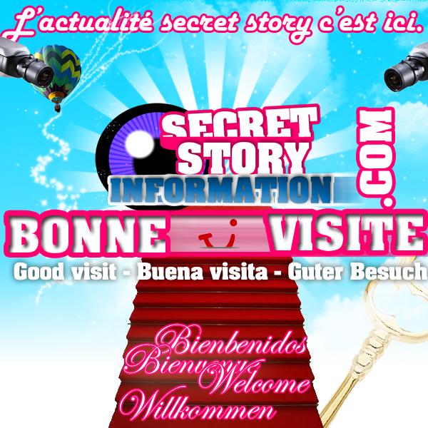 Bonjour et Bienvenue à tous!  Secret-StoryInformation
