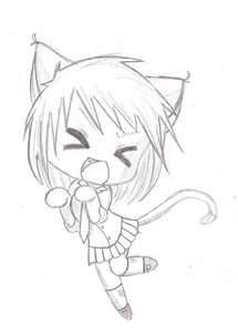 dessin manga kawaii