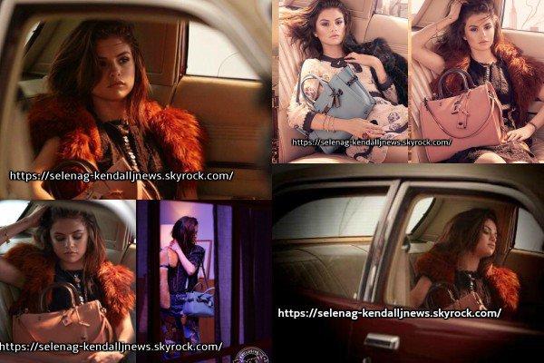Découvrez des nouvelles photos de Selena posant pour la marque Coach