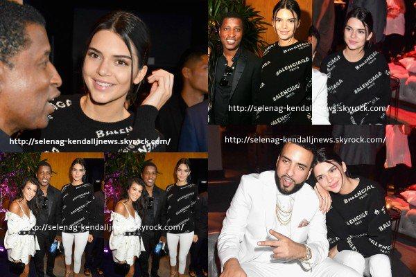 Le 21 juin 2017, Kendall a assisté à la première du film Can't Stop, Won't Stop: A Bad Boy Story à Los Angeles