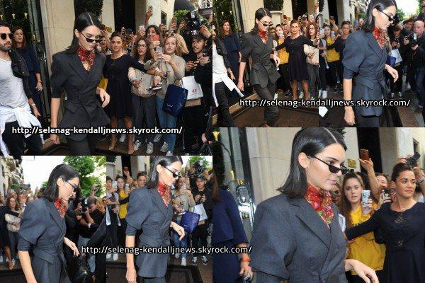 Le 2 juillet : une journée chargée pour Kendall à Paris