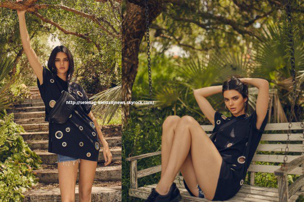 Kendall pour Kendall + Kylie DropTwo Collection