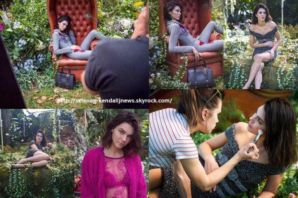 Nouveau photoshoot de Kendall pour La Perla